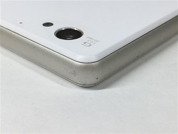 【中古】【安心保証】 SIMフリー XperiaJ1Compact ホワイト