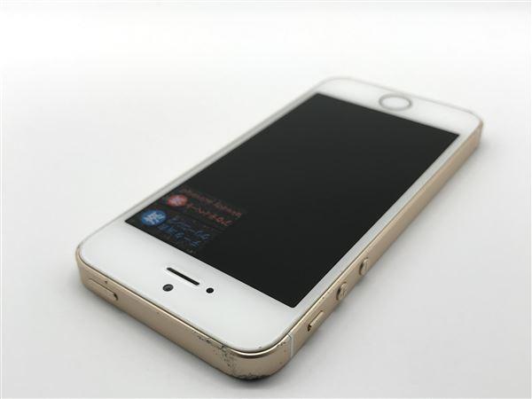 【中古】【安心保証】 iPhoneSE[128GB] SIMロック解除 UQモバイル ゴールド