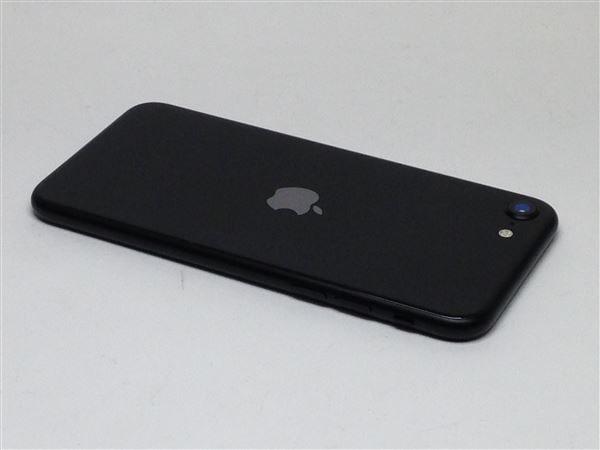 【中古】【安心保証】 iPhoneSE 第2世代[128GB] au MXD02J ブラック
