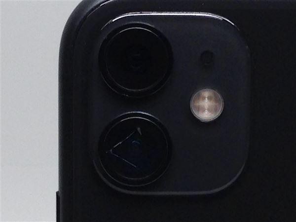 【中古】【安心保証】 iPhone11[64GB] au MWLT2J ブラック
