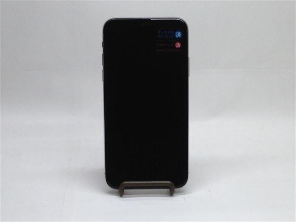 【中古】【安心保証】 iPhoneX[64GB] au MQAY2J シルバー