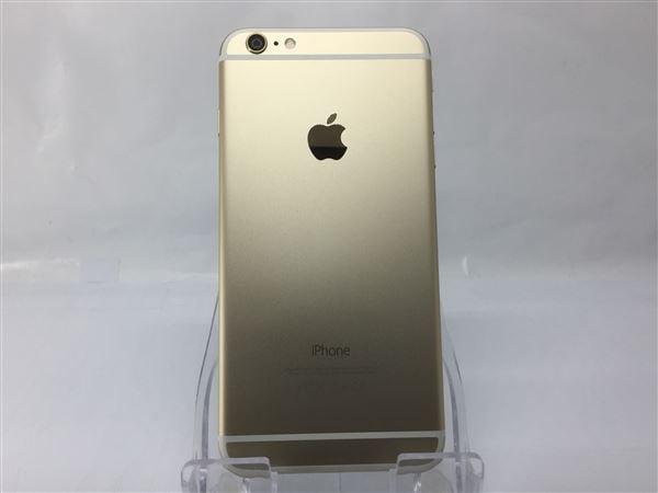 【中古】【安心保証】 SoftBank iPhone6Plus[16G] ゴールド