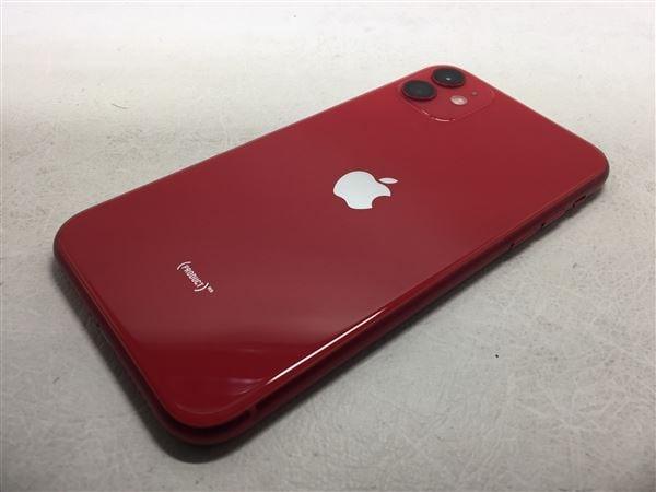【中古】【安心保証】 iPhone11[64GB] SIMロック解除 SoftBank レッド