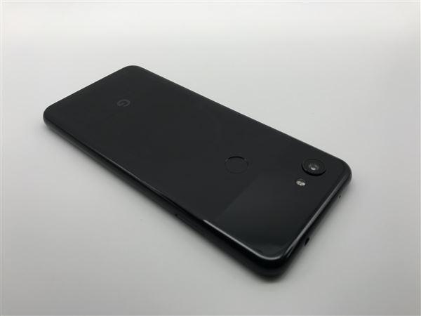 【中古】【安心保証】 SoftBank Pixel 3a[64G] ジャストブラック