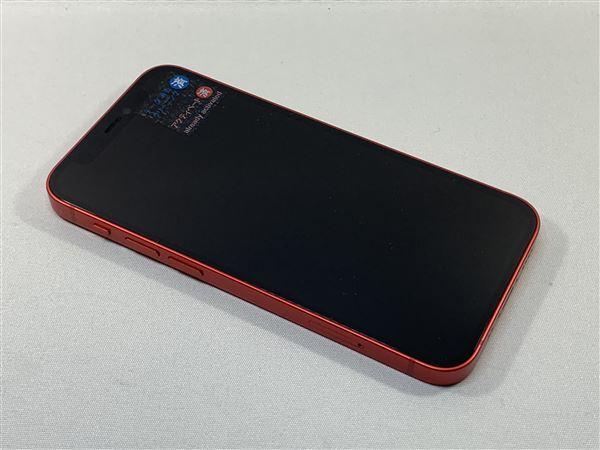 【中古】【安心保証】 iPhone12mini[64GB] SoftBank MGAE3J PRODUCTRED