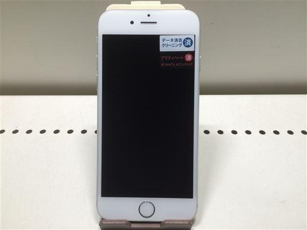 【中古】【安心保証】 iPhone6[64GB] au MG4H2J シルバー