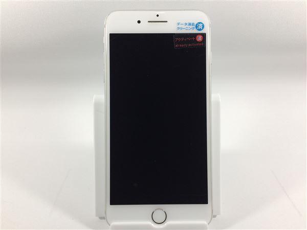 【中古】【安心保証】 iPhone7Plus[128GB] au MN6G2J シルバー