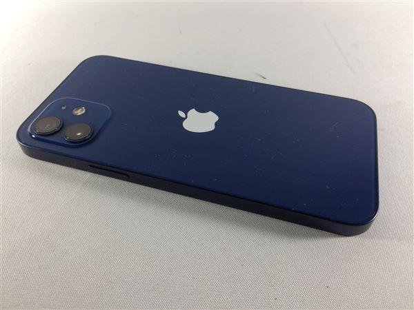 【中古】【安心保証】 iPhone12[256GB] SIMフリー ブルー