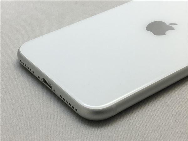 【中古】【安心保証】 iPhoneSE 第2世代[64GB] SIMロック解除 au ホワイト