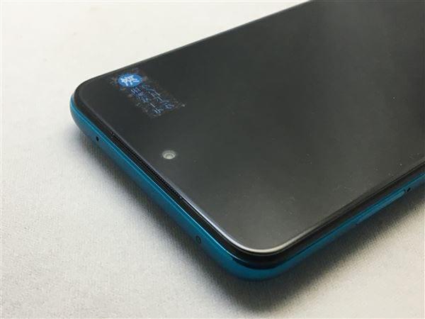 【中古】【安心保証】 SIMフリー Redmi Note 9S[128G] オーロラブルー