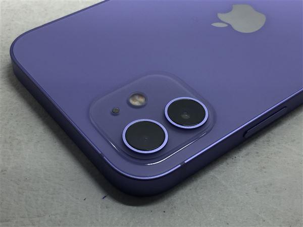 【中古】【安心保証】 iPhone12[64GB] SIMロック解除 SoftBank パープル