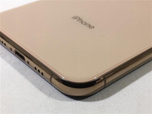 【中古】【安心保証】 iPhoneXS[64GB] SIMロック解除 docomo ゴールド