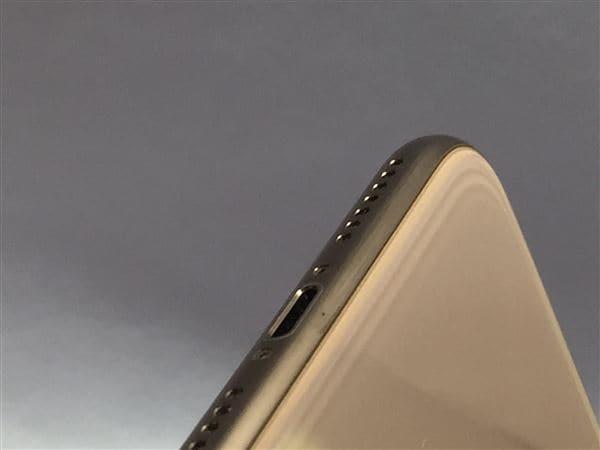 【中古】【安心保証】 iPhoneXSMax[256GB] docomo MT6W2J ゴールド