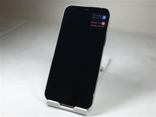 【中古】【安心保証】 iPhone12Pro[128GB] au MGM63J シルバー