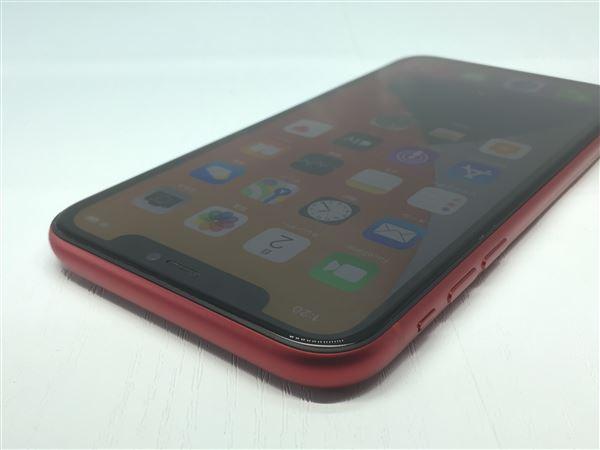 【中古】【安心保証】 iPhone11[256GB] SoftBank MWM92J レッド