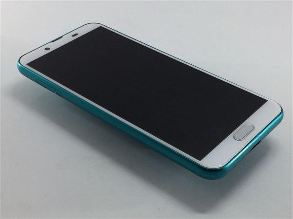 【中古】【安心保証】 SIMフリー SH-M08 ターコイズグリーン