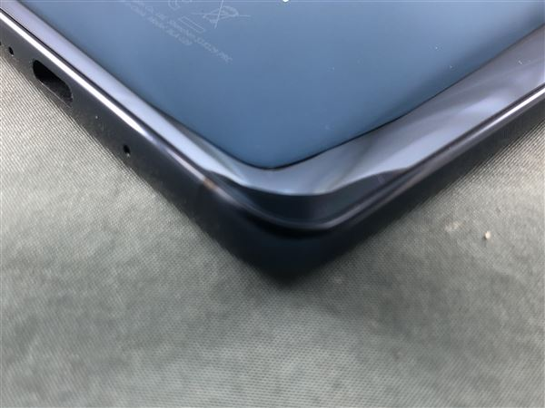 【中古】【安心保証】 SoftBank Mate10 Pro ミッドナイトブルー