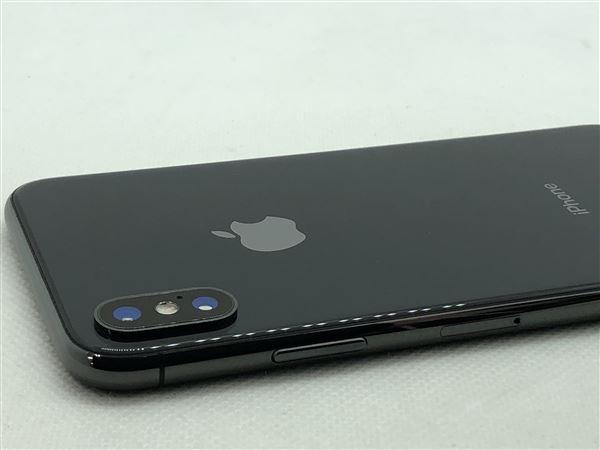 【中古】【安心保証】 iPhoneX[256GB] docomo NQC12J スペースグレイ