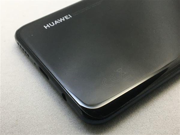 【中古】【安心保証】 SIMフリー HUAWEI P30 lite ミッドナイトブラック