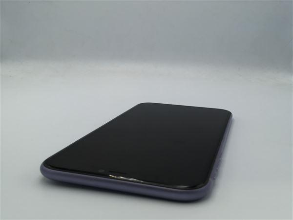 【中古】【安心保証】 iPhone11[128GB] SIMフリー パープル
