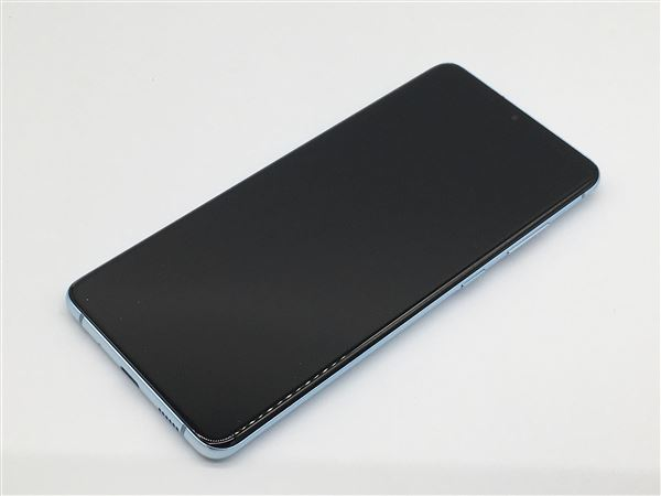 【中古】【安心保証】 au SCG02 [128GB] (5G) クラウドブルー