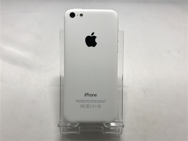 【中古】【安心保証】 SoftBank iPhone5c[32G] ホワイト