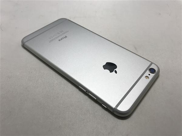 【中古】【安心保証】 au iPhone6Plus[16G] シルバー