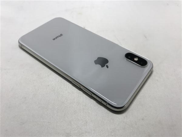 【中古】【安心保証】 iPhoneXS[256GB] SIMロック解除 docomo シルバー