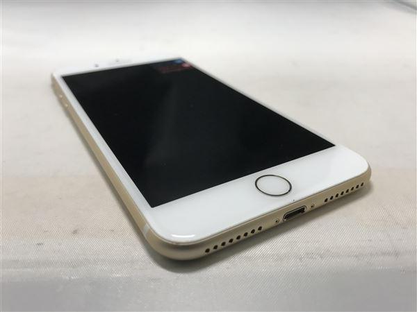 【中古】【安心保証】 iPhone7Plus[32GB] au MNRC2J ゴールド