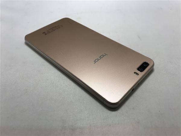【中古】【安心保証】 SIMフリー honor6Plus ゴールド