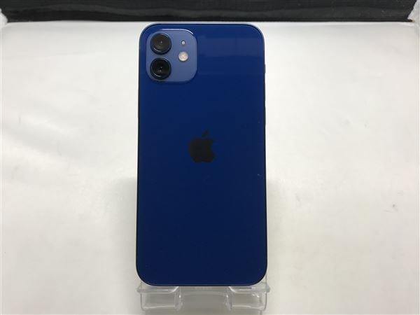【中古】【安心保証】 iPhone12[64GB] SoftBank MGHR3J ブルー