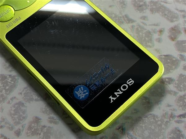 【中古】【安心保証】 S780シリーズ[8GB](グリーン)NW-S784