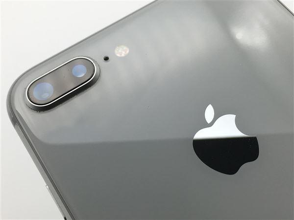 【中古】【安心保証】 iPhone8Plus[64GB] SIMロック解除 au シルバー