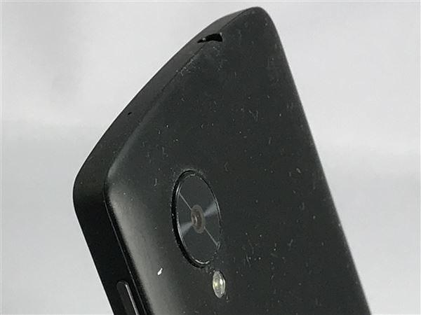 【中古】【安心保証】 Y!mobile Nexus5[16GーEM] ブラック