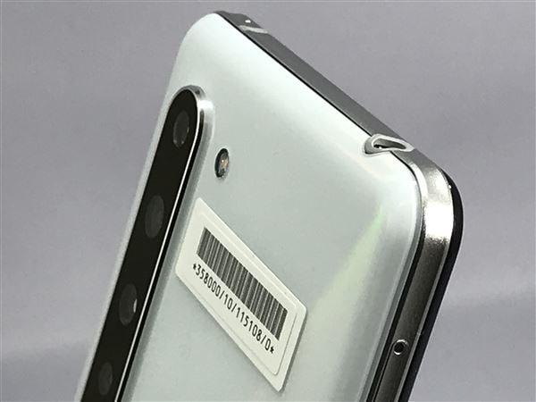【中古】【安心保証】 SoftBank 908SH [256GB] (5G) オーロラホワイト