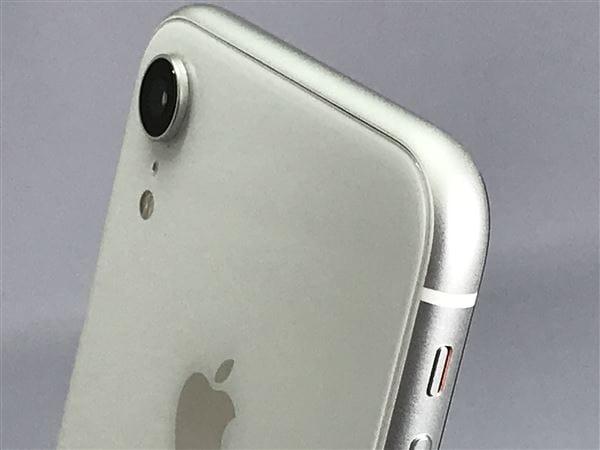 【中古】【安心保証】 iPhoneXR[64GB] SIMロック解除 au ホワイト