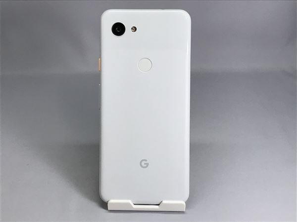【中古】【安心保証】 docomo Pixel 3a[64G] クリアリーホワイト
