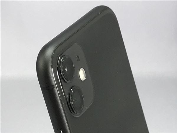 【中古】【安心保証】 iPhone11[256GB] SIMフリー ブラック
