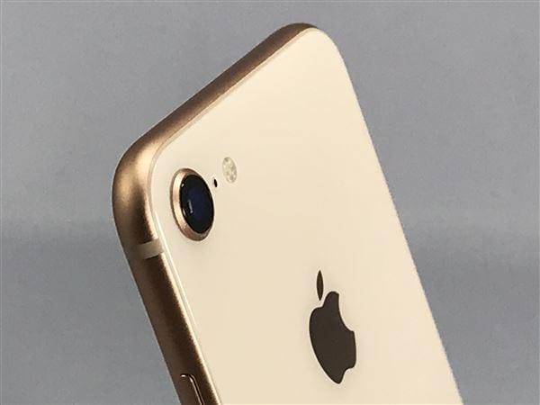 【中古】【安心保証】 iPhone8[64GB] docomo MQ7A2J ゴールド