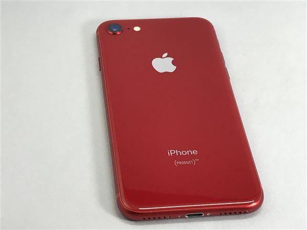 【中古】【安心保証】 iPhone8[64GB] SIMロック解除 SoftBank レッド