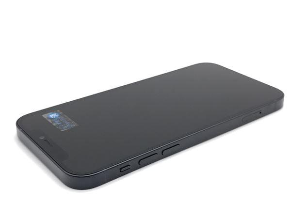 【中古】【安心保証】 iPhone12[128GB] au MGHU3J ブラック
