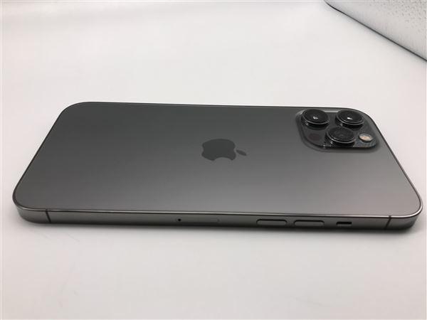 【中古】【安心保証】 iPhone12ProMax[128GB] SIMフリー グラファイト