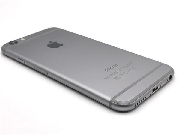 【中古】【安心保証】 iPhone6[64GB] SoftBank MG4F2J スペースグレイ