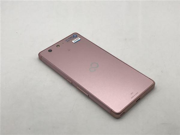 【中古】【安心保証】 SIMフリー ARROWS M03 ピンク