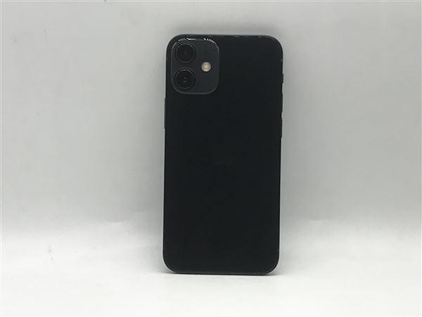 【中古】【安心保証】 iPhone12mini[64GB] docomo MGA03J ブラック