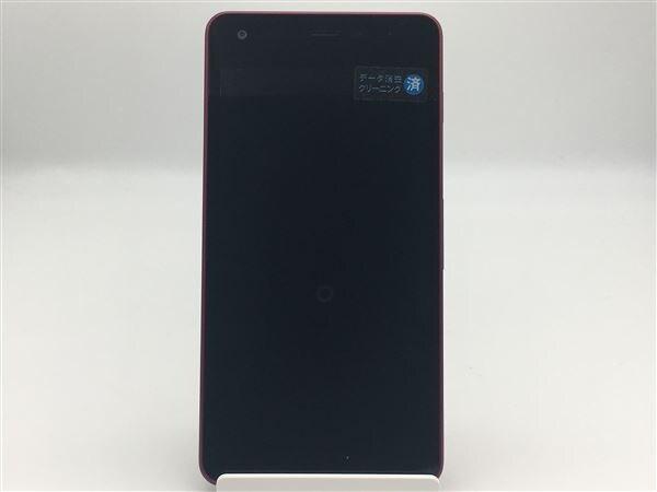 【中古】【安心保証】 Y!mobile Android One S2 レッド