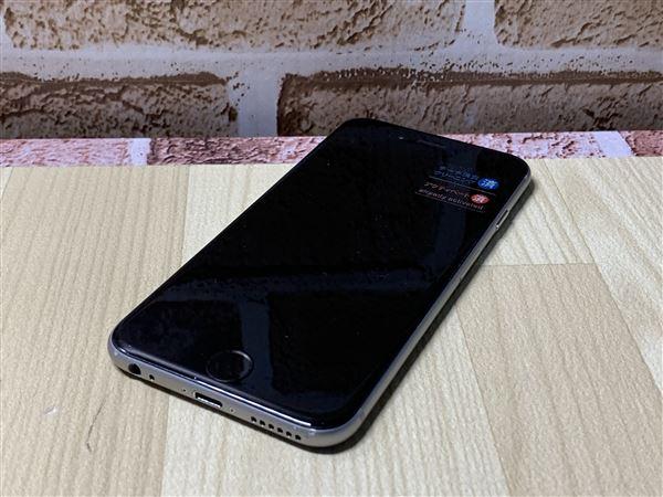 【中古】【安心保証】 iPhone6[128GB] SoftBank NG4A2J スペースグレイ