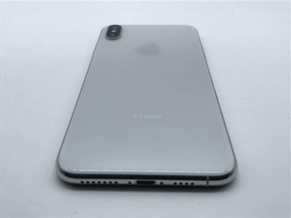 【中古】【安心保証】 iPhoneXSMax[256GB] SoftBank MT6V2J シルバー