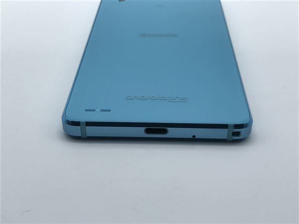 【中古】【安心保証】 Y!mobile Android One X3 ライトブルー