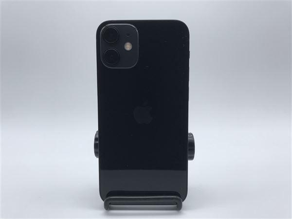 【中古】【安心保証】 iPhone12mini[64GB] SIMロック解除 au ブラック
